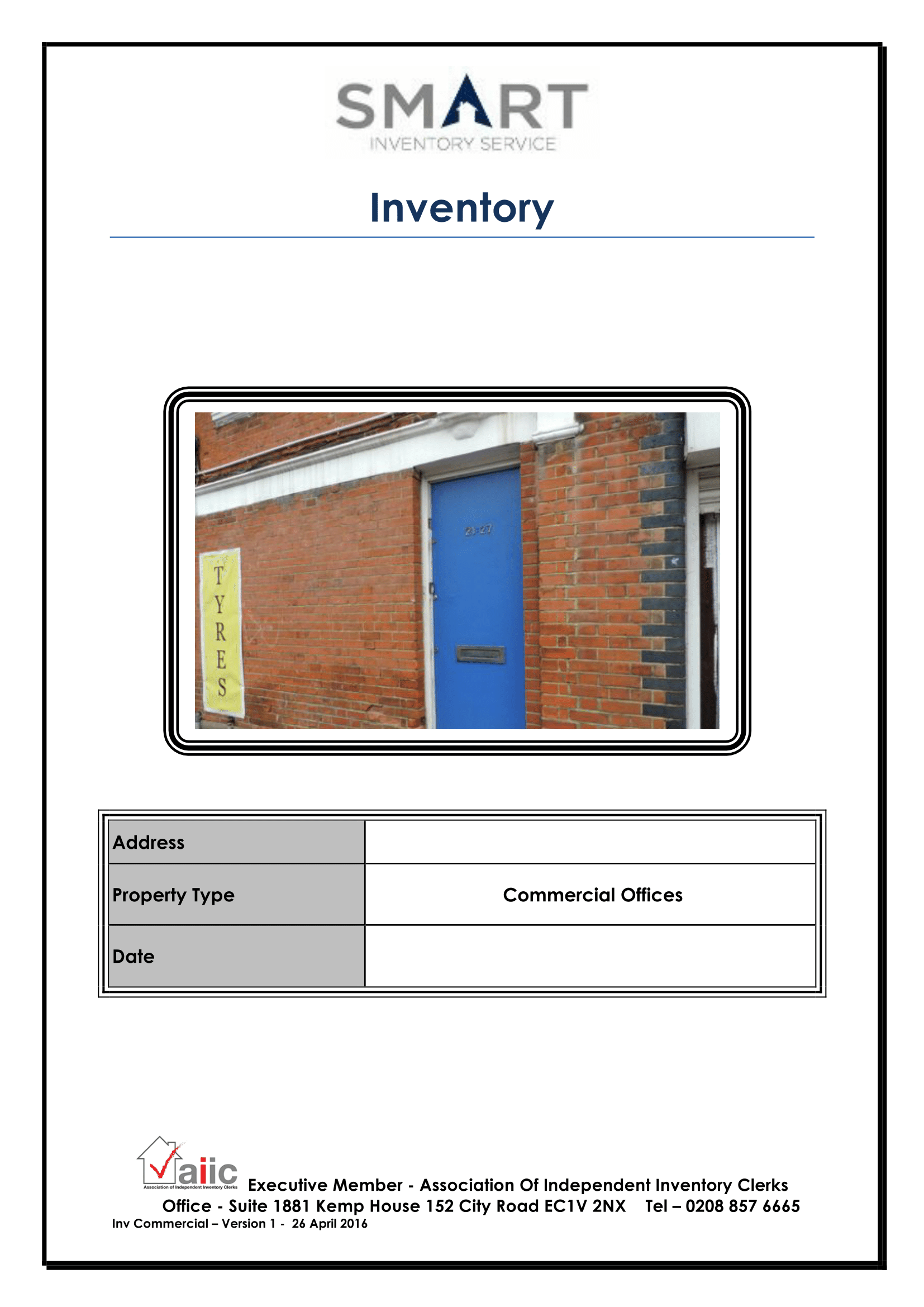 Smart Inventory Commercial Report Image
