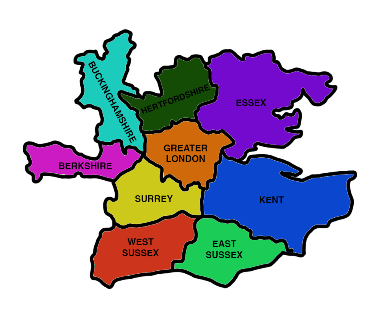 Areas Covered In Greater London by Smart Inventory