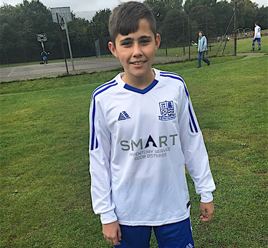 Smart Inventory proudly sponsors St Mary Cray Athletic FC Charity
