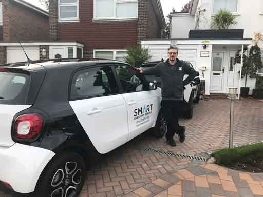 The latest addition to the Smart fleet
